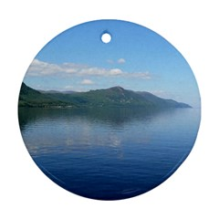 LOCH NESS Round Ornament (Two Sides)