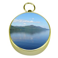 LOCH NESS Gold Compasses
