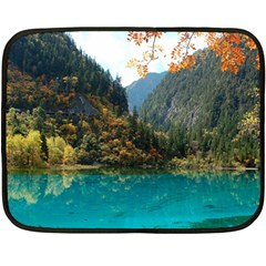 JIUZHAIGOU VALLEY 3 Double Sided Fleece Blanket (Mini)