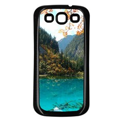 JIUZHAIGOU VALLEY 3 Samsung Galaxy S3 Back Case (Black)