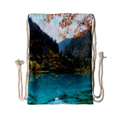 JIUZHAIGOU VALLEY 3 Drawstring Bag (Small)