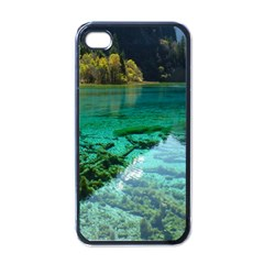 JIUZHAIGOU VALLEY 2 Apple iPhone 4 Case (Black)