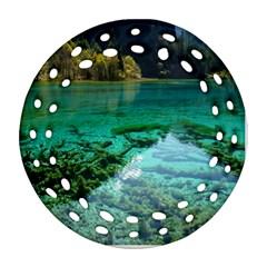 JIUZHAIGOU VALLEY 2 Ornament (Round Filigree)