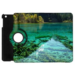 JIUZHAIGOU VALLEY 2 Apple iPad Mini Flip 360 Case