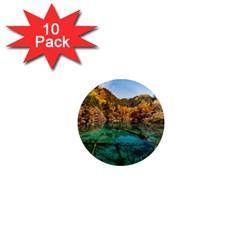 JIUZHAIGOU VALLEY 1 1  Mini Magnet (10 pack)