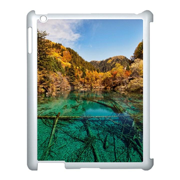 JIUZHAIGOU VALLEY 1 Apple iPad 3/4 Case (White)