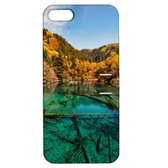 JIUZHAIGOU VALLEY 1 Apple iPhone 5 Hardshell Case with Stand