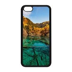JIUZHAIGOU VALLEY 1 Apple iPhone 5C Seamless Case (Black)