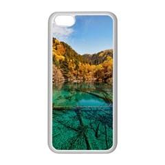 JIUZHAIGOU VALLEY 1 Apple iPhone 5C Seamless Case (White)