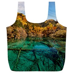 JIUZHAIGOU VALLEY 1 Full Print Recycle Bags (L)