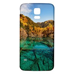JIUZHAIGOU VALLEY 1 Samsung Galaxy S5 Back Case (White)