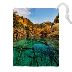JIUZHAIGOU VALLEY 1 Drawstring Pouches (XXL)