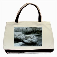 ICE AND WATER Basic Tote Bag (Two Sides)