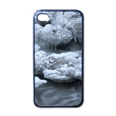 ICE AND WATER Apple iPhone 4 Case (Black)