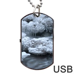 ICE AND WATER Dog Tag USB Flash (One Side)