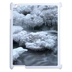 ICE AND WATER Apple iPad 2 Case (White)