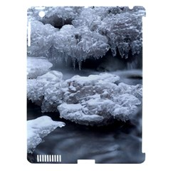 ICE AND WATER Apple iPad 3/4 Hardshell Case (Compatible with Smart Cover)