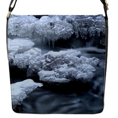 ICE AND WATER Flap Messenger Bag (S)