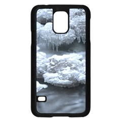 ICE AND WATER Samsung Galaxy S5 Case (Black)