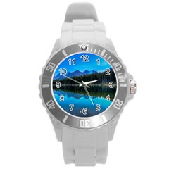 HERBERT LAKE Round Plastic Sport Watch (L)
