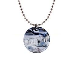 Frozen Creek Button Necklaces