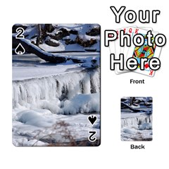 FROZEN CREEK Playing Cards 54 Designs