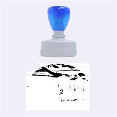 FROZEN CREEK Rubber Oval Stamps