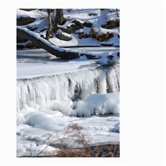 FROZEN CREEK Small Garden Flag (Two Sides)