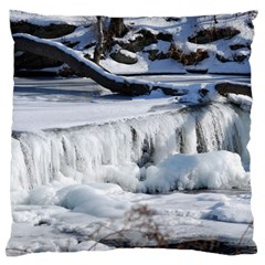 FROZEN CREEK Large Flano Cushion Cases (One Side)