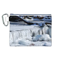 FROZEN CREEK Canvas Cosmetic Bag (L)