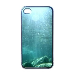 CRATER LAKE NATIONAL PARK Apple iPhone 4 Case (Black)