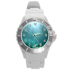CRATER LAKE NATIONAL PARK Round Plastic Sport Watch (L)