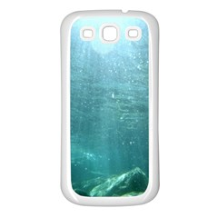 CRATER LAKE NATIONAL PARK Samsung Galaxy S3 Back Case (White)