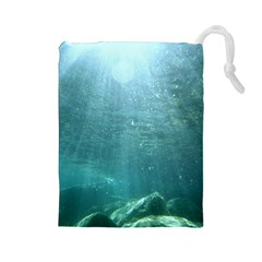 CRATER LAKE NATIONAL PARK Drawstring Pouches (Large)