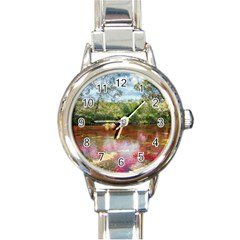 CANO CRISTALES 3 Round Italian Charm Watches