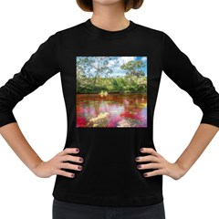 CANO CRISTALES 3 Women s Long Sleeve Dark T-Shirts