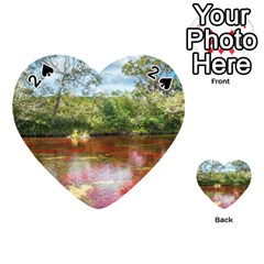 Cano Cristales 3 Playing Cards 54 (heart)