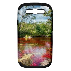 CANO CRISTALES 3 Samsung Galaxy S III Hardshell Case (PC+Silicone)
