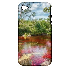 CANO CRISTALES 3 Apple iPhone 4/4S Hardshell Case (PC+Silicone)