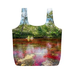 CANO CRISTALES 3 Full Print Recycle Bags (M)
