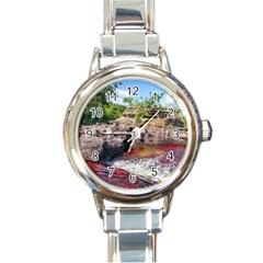 CANO CRISTALES 2 Round Italian Charm Watches