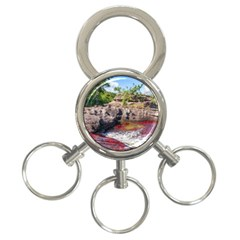 CANO CRISTALES 2 3-Ring Key Chains