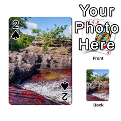 CANO CRISTALES 2 Playing Cards 54 Designs