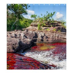 CANO CRISTALES 2 Shower Curtain 66  x 72  (Large)