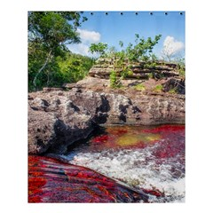 CANO CRISTALES 2 Shower Curtain 60  x 72  (Medium)