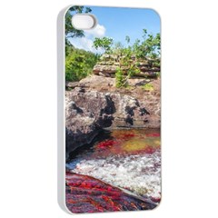 CANO CRISTALES 2 Apple iPhone 4/4s Seamless Case (White)