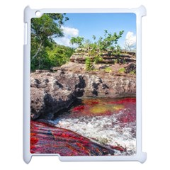 CANO CRISTALES 2 Apple iPad 2 Case (White)