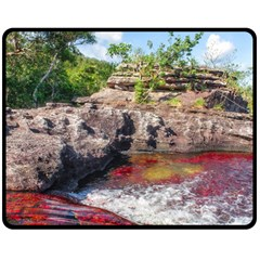 CANO CRISTALES 2 Double Sided Fleece Blanket (Medium)