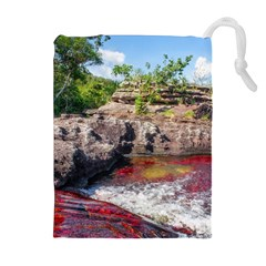 CANO CRISTALES 2 Drawstring Pouches (Extra Large)