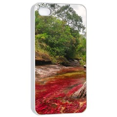 CANO CRISTALES 1 Apple iPhone 4/4s Seamless Case (White)